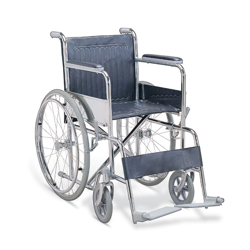 economic steel wheelchair