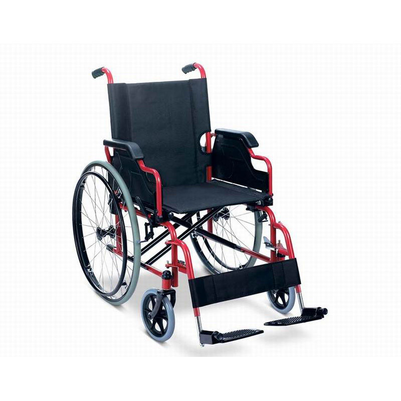 steel wheelchair detachable footrest