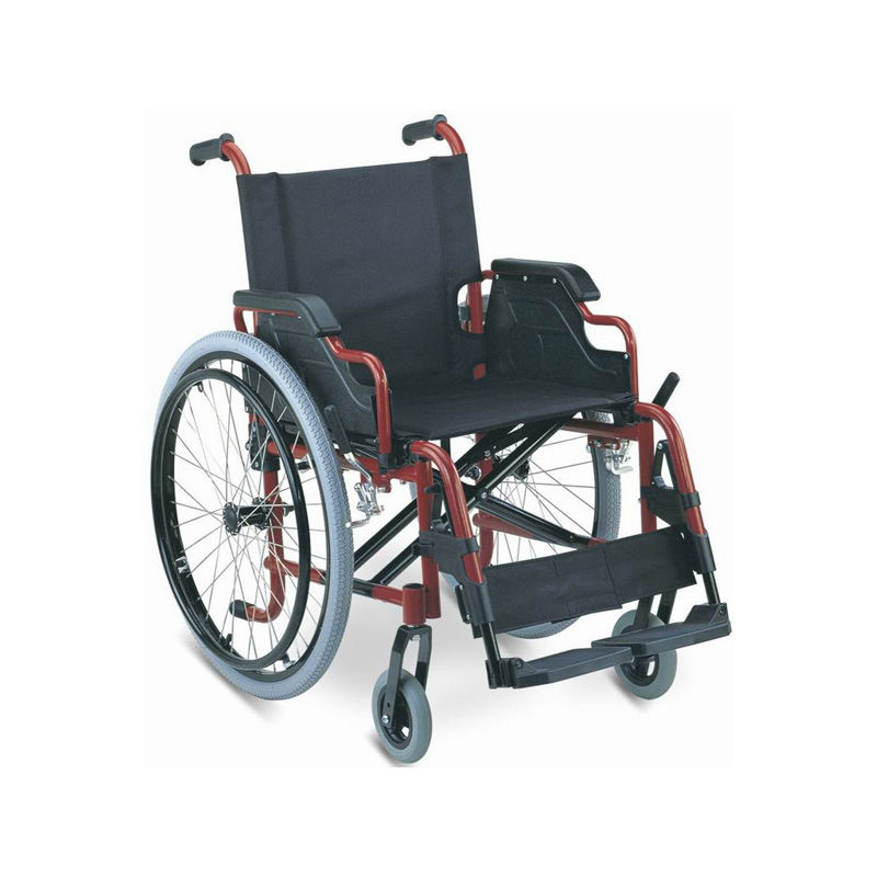 aluminum wheelchair quick release rear wheel