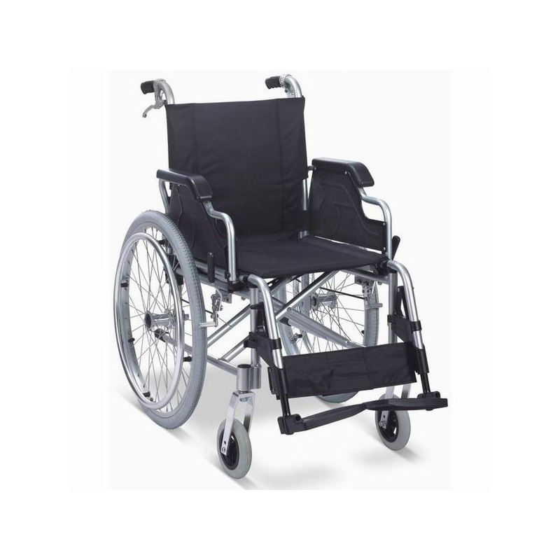 aluminum wheelchair with united brake