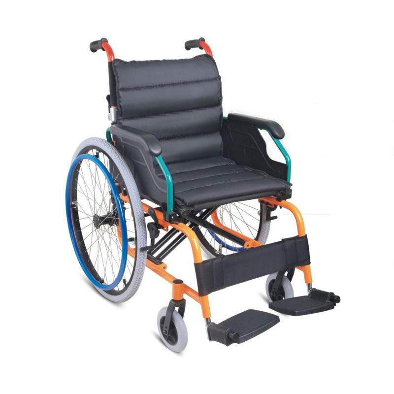aluminum wheelchair drop back handle