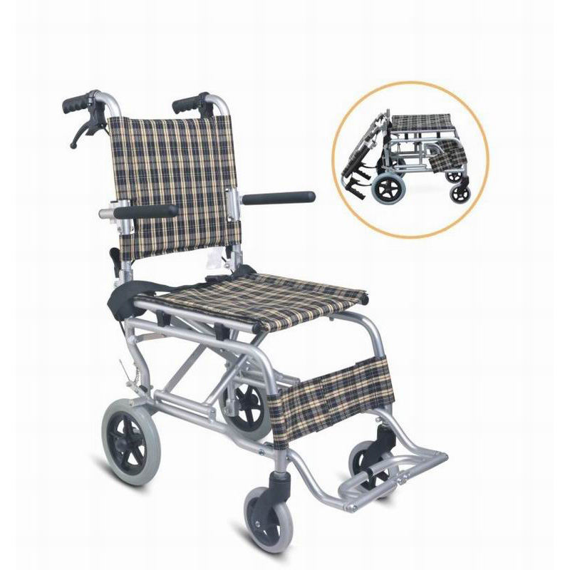 aluminum transit wheelchair,transport chair